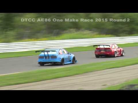 2015 DTCC AE86ワンメイクレース Round 2 DVD