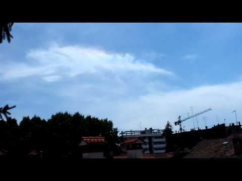 Fire Rainbow - Circumhorizontal Arc from 46° up to 50° from the solar disk Part 1