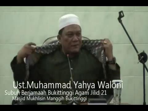 Ceramah Dahsyat Ust.M.Yahya Waloni diSubuh Berjamaah Jilid 21