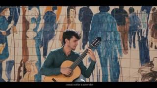 Amar pelos dois - Salvador Sobral - Eurovision Portugal - Classical Guitar