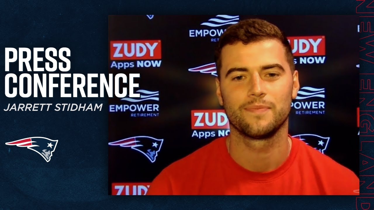 Jarrett Stidham I M Happy To Be Back In The Building With Everybody Press Conference Youtube