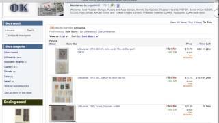 видео Филателистический магазин