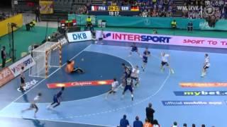 2. Halbzeit Deutschland - Frankreich Handball WM 2013 - Freitag, 18.01.2013