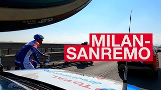 21.03.20 En immersion avec le Team TDE - Milan-Sanremo
