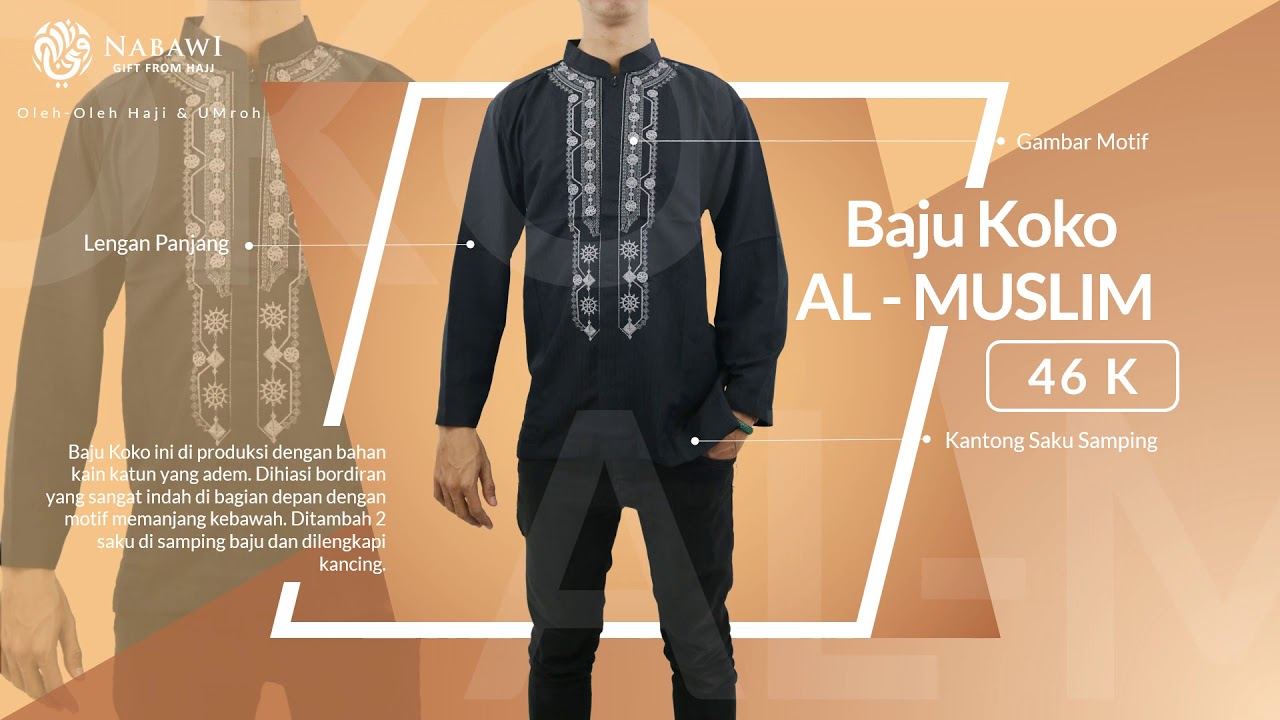 Baju Koko Jubah Oleh Haji Dan Umroh Surabaya Youtube Modern 14