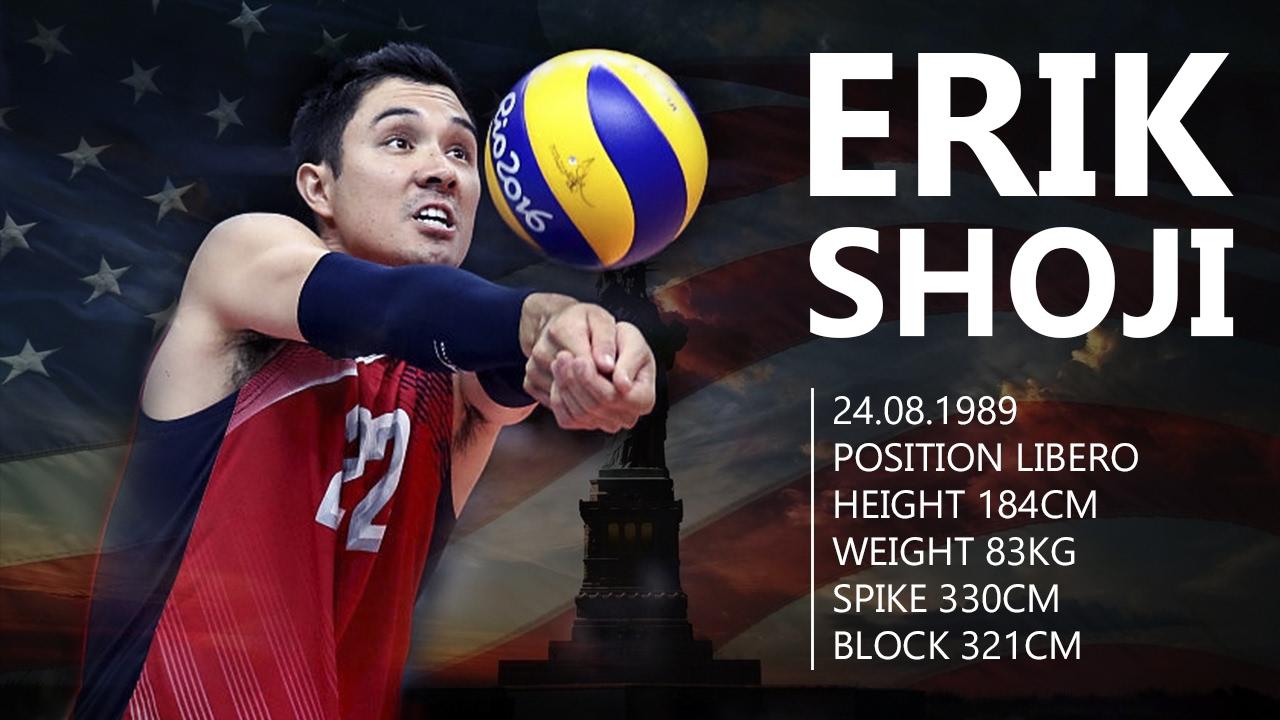 Erik Shoji The Best Libero In The World Best Unbeliveble Saves Digs Usa Volleyball Team Youtube