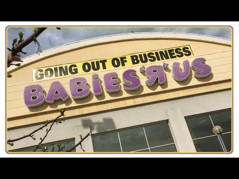 Last Look Inside BABIES 'R' US Store Closing in Canton Ohio - Toys R Us Liquidation Sales
