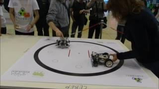 Сумо роботов на Кубке преподавателей робототехники на Робофесте-2017