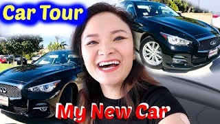 xe mới của bee   car tour   my new car beesweetiee