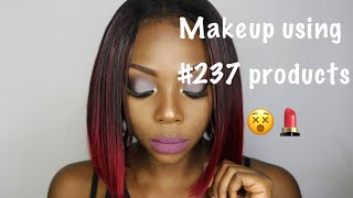 Video MAKEUP WITH CAMEROONIAN PRODUCTS/ GREY EYESHADOWS / BLACK GIRL ( in French) download MP3, 3GP, MP4, WEBM, AVI, FLV September 2018