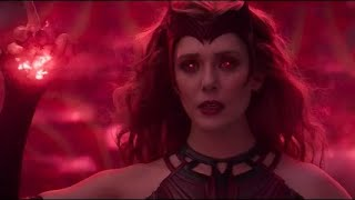 Wanda Maximoff Becames The Scarlet Witch