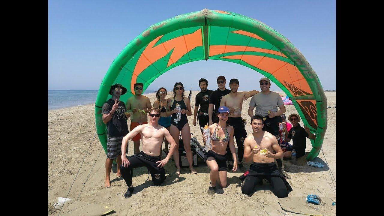 Kitesurf Ucpa 2017 Port Camargue Youtube