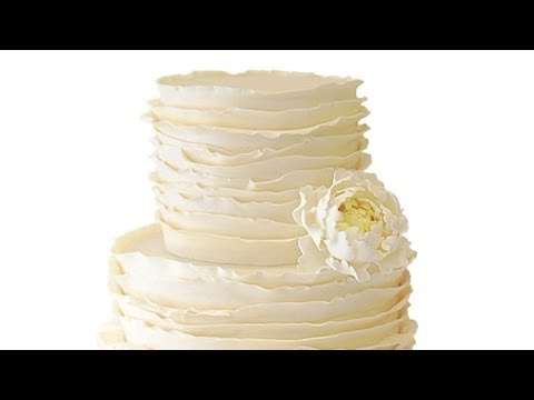 how to make ruffle wedding cake ruffle wedding cake 15989