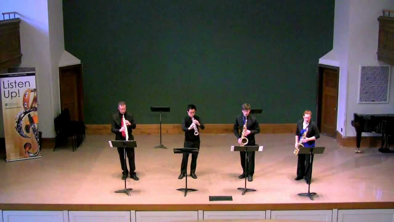 Shadows of Bamian by Robert Lemay - Proteus Saxophone Quartet