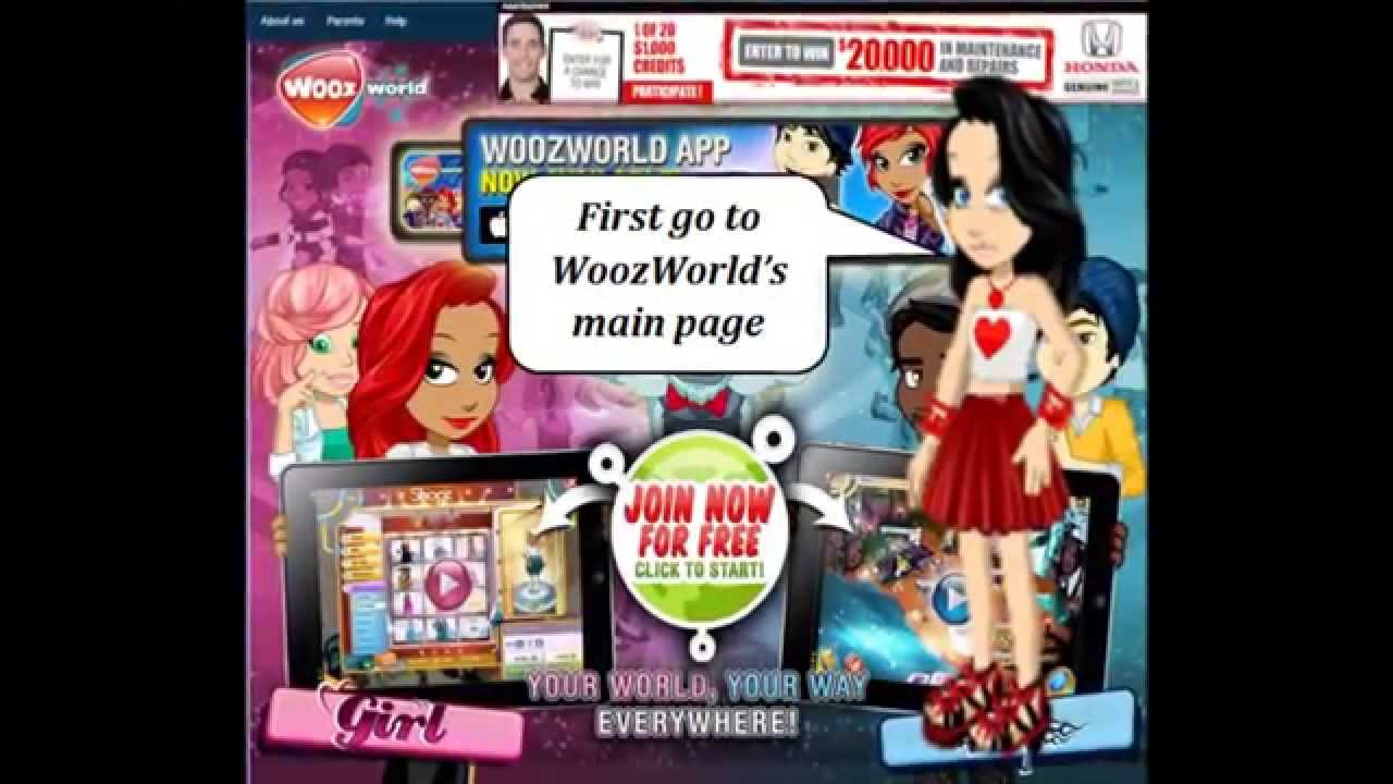 how to delete your woozworld account