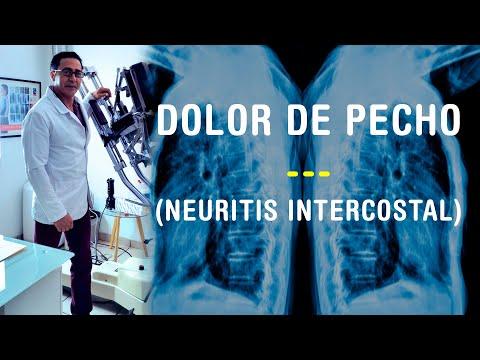 inter-costal neuritis/neuralgia.