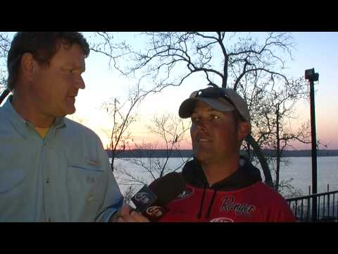 Pre-Tournament Report from Sam Rayburn Reservoir with Dustin Grice