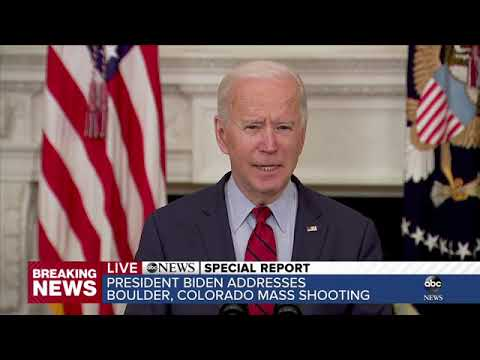 Biden full speech: President pushes House-passed gun reforms after Boulder shooting | ABC7