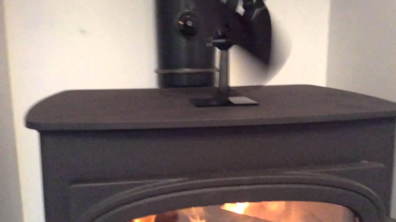 Log Burner Fan Youtube
