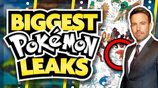 The BIGGEST POKEMON LEAKS of ALL TIME!