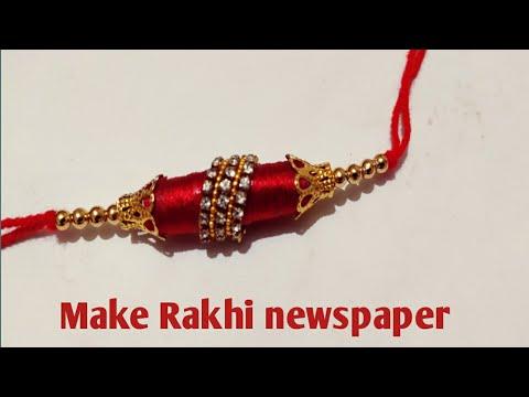 How to make rakhi at home ||Homemade Rakhi for raksha-bandhan