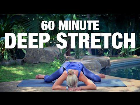 60 Minute Deep Stretch Yoga Class - Five Parks Yoga