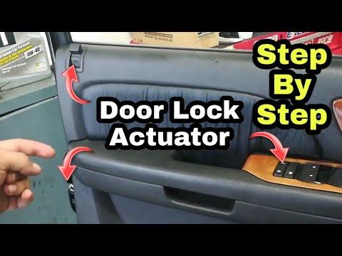 2007 2014 Gmc Chevrolet Door Lock Actuator Install Silverado Sierra Tahoe Yukon Ect Youtube