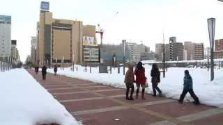 北彩都冬景色2015 NHLシカゴブラックホークス!