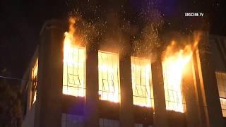 DTLA Commercial Building Fire