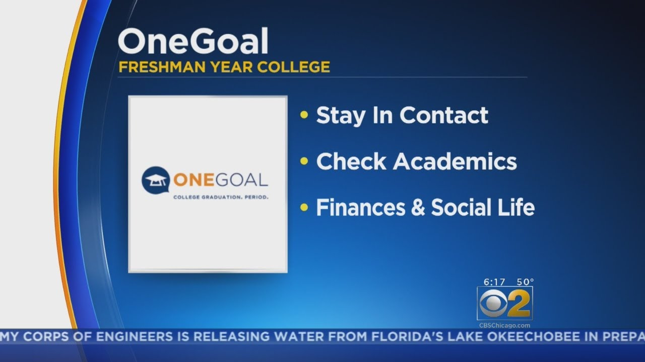 Helping At Risk Students Address >> One Goal Program Helping At Risk Students On Path To College Youtube