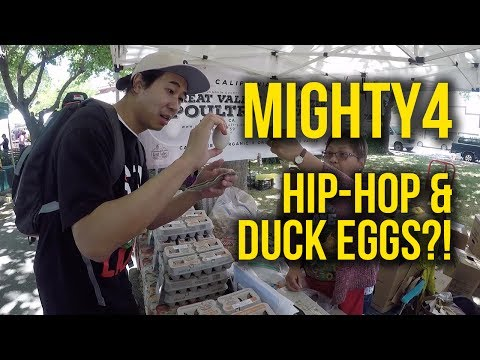 TRYING PENOY AT THE MIGHTY4 HIP-HOP FESTIVAL (VLOG)