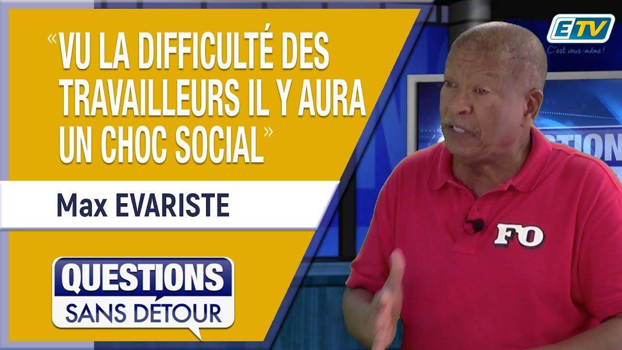 Questions Sans Détour avec Max EVARISTE