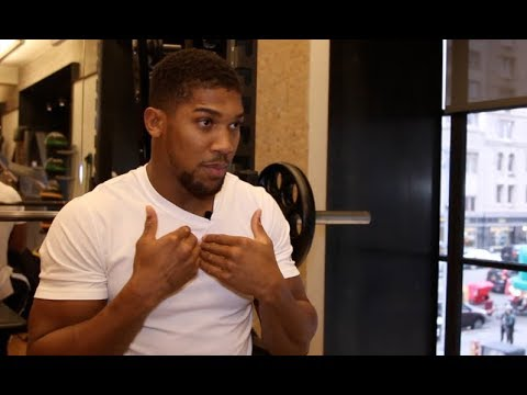 'BEGGING? - YEAH I'M BEGGING' - ANTHONY JOSHUA (UNCUT IN NYC) ON WILDER, TYSON FURY, WHYTE, MILLER