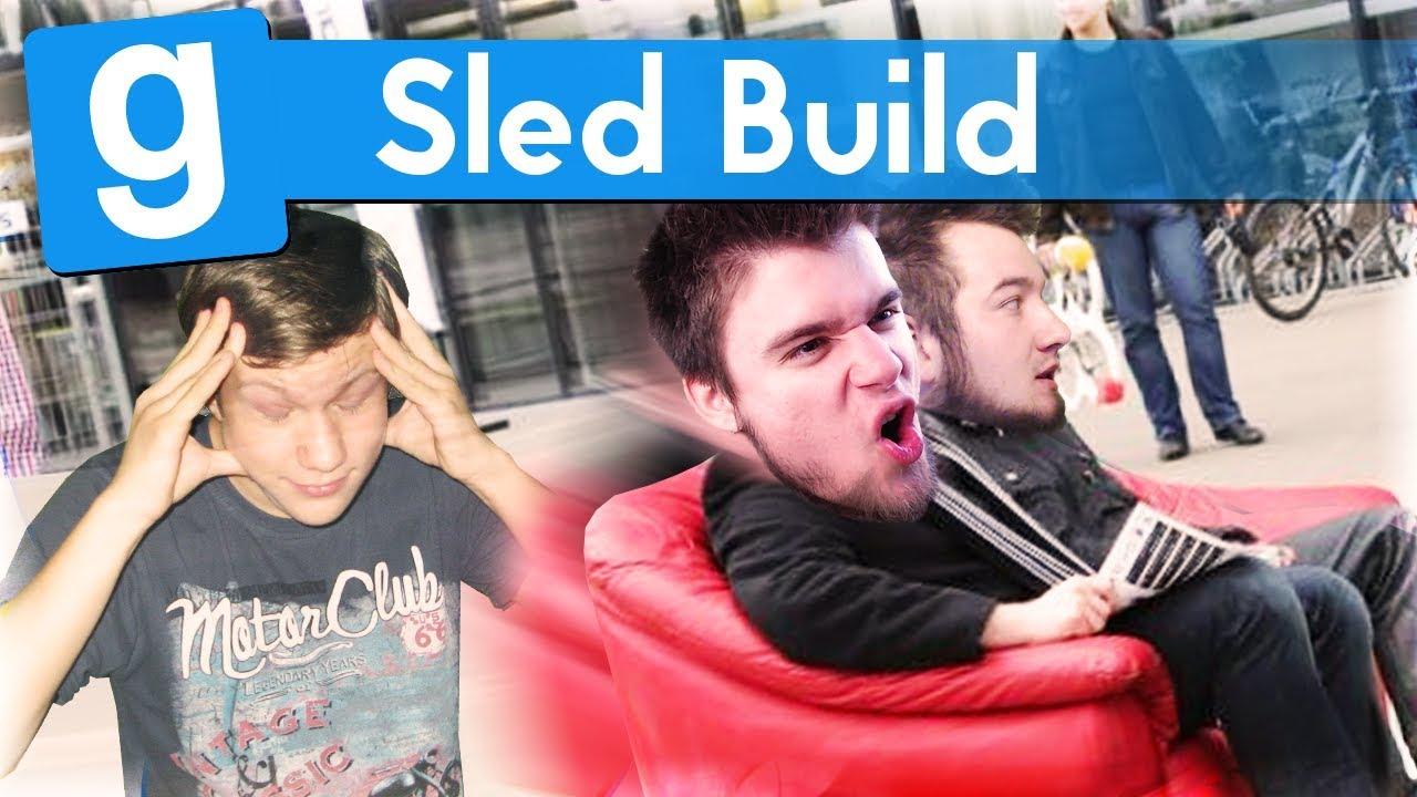 KANAPOSELELATOR!   Garry's mod (With: EKIPA) #670 – Sled Build (#8) #Bladii #Po polsku