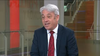 video: John Bercow denies discussing peerage after defecting to Labour