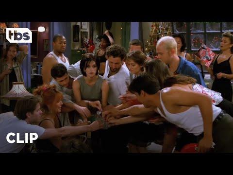 Friends: Monica And Rachel's Christmas Sauna Party (Season 2 Clip) | TBS