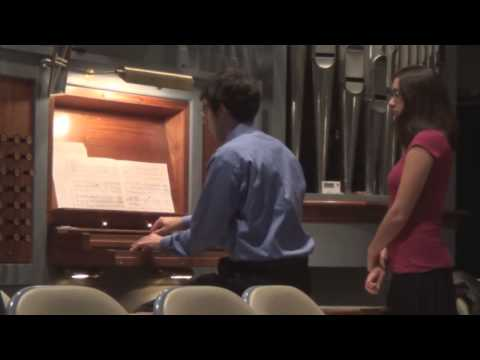 Organ Recital 10/13/13 - James Roman (Part 2)