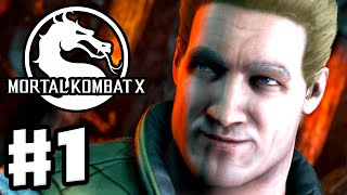 Mortal Kombat X - Gameplay Walkthrough Part 1 - Chapter 1: Johnny Cage (PC, PS4, Xbox One)