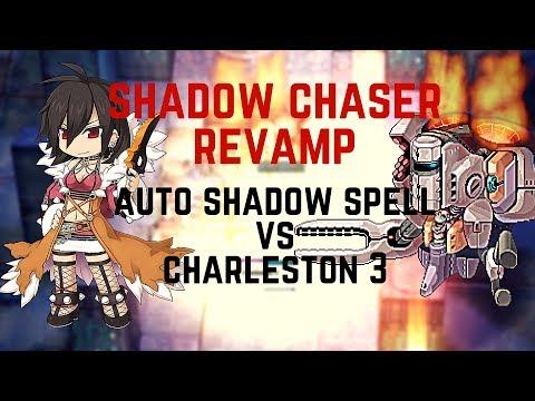RAG: RAGNAROK ONLINE   Shadow Chaser Auto Shadow Spell Build (Revamp) VS Charleston 3 (KvM)