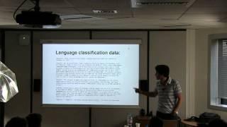 [humantalks][Paris][juin 2013] Baptême en Machine Learning
