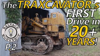 Will the DIESEL Start & DRIVE? ~ 1950's Caterpillar TraxCavator ~ Part 2 ~ Forgotten for 20+ YEARS