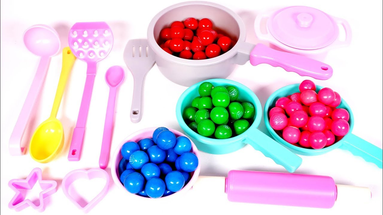 Kitchen Tools and Utensils Playset for Kids | Learn Colors with Yippee Toys