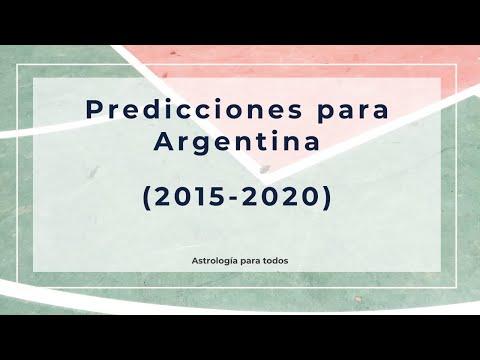 Predicciones para Argentina 2015-2020