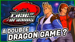 The History of Rage of the Dragons The Last Double Dragon Arcade Game