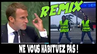 GILET JAUNE DANCING Ft. MACRON (REMIX)