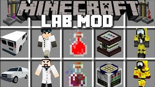 Minecraft LAB MOD / BUILD YOUR OWN MONSTERS AND WATCH THEM GROW!! Minecraft