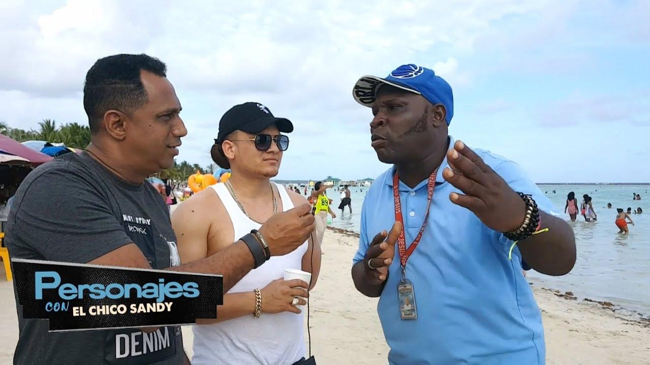 Camarero en Boca Chica cuenta como truquean en PERSONAJES CON EL CHICO SANDY