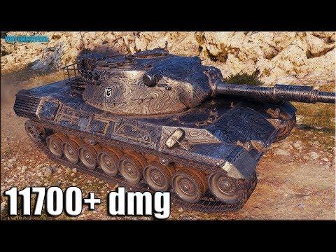 Самый любимый танк ТОП Статистов ✅ World of Tanks Leopard 1
