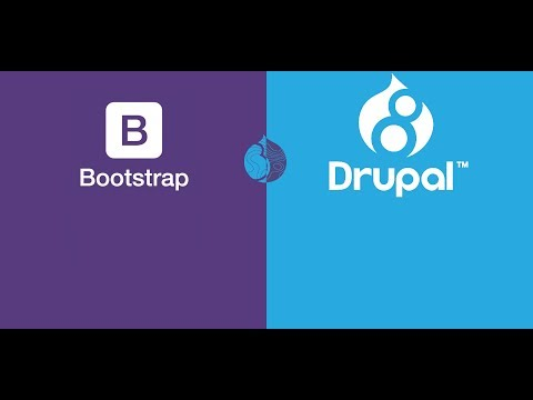 Creating Drupal 8 custom Bootstrap theme and Custom Template on localhost.