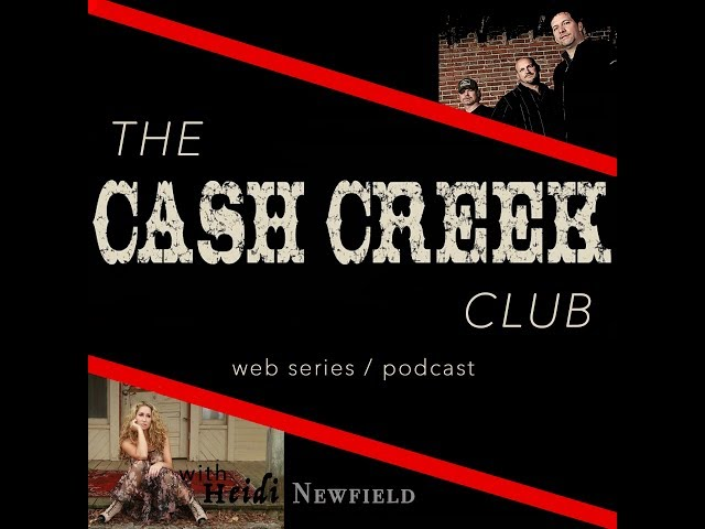 The Cash Creek Club #8 (special guest Heidi Newfield) Country Music Talk Show